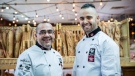 Laurent Agliata and his son Damien Agliata, shown in a handout photo, will represent Canada at the World of Bread contest from Oct. 22 to 24 in Nantes, France. THE CANADIAN PRESS/HO-Boulangerie Lâc Amour du Pain