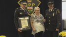 Salt was honoured by the OPP on Wednesday.