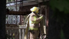 A house on Brant County Road 22 was significantly damaged by fire on Wednesday, Oct. 18, 2017.