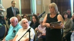 Emotional messages at Wettlaufer inquiry meeting