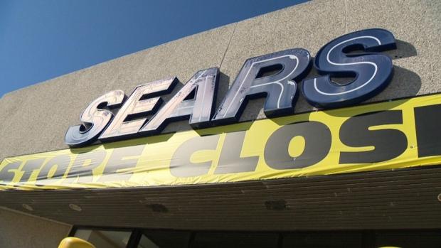 Sears Canada liquidation sales