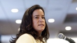 Justice Minister Jody Wilson-Raybould speaks in Ottawa on Wednesday, February 15, 2017. (Fred Chartrand / THE CANADIAN PRESS)