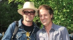 Gord Downie and Jim Cuddy