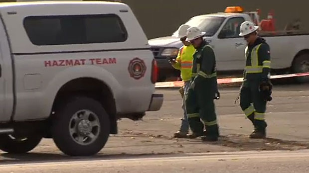 Crews investigate an ammonia leak that killed three people were finally able to enter the facility on Wednesday afternoon.