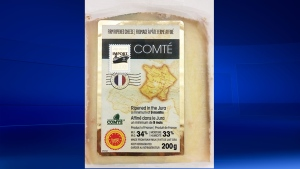 Agropur brand comte cheese is being recalled