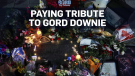 Tributes to Gord Downie across the nation
