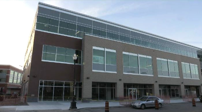 Shopify plans to expand in Waterloo Region with a second office at 85 Willis Way in UpTown Waterloo. (CTV Kitchener)