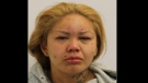 Angela Bluecoat, 36, is shown in a handout image from Toronto police.