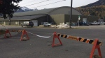 Fernie Memorial Arena is shown in Fernie, B.C. on Wednesday, Oct.18, 2017. Three people who died after a suspected ammonia leak were doing maintenance work on ice-making equipment at an arena in southeastern British Columbia, says the city's mayor. (THE CANADIAN PRESS / Lauren Krugel)