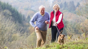 New research suggests that walking could be enough to lower the risk of mortality even in those who fail to meet the recommended activity levels. (SolStock/Istock.com)