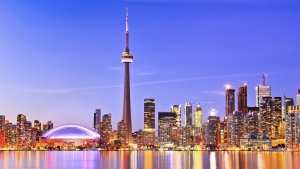 Downtown Toronto is seen in this undated photo. (JavenLin/Istock)