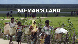 'No-man's land': Rohingyas starving at blockade