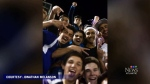 Students combat racist insults at football game
