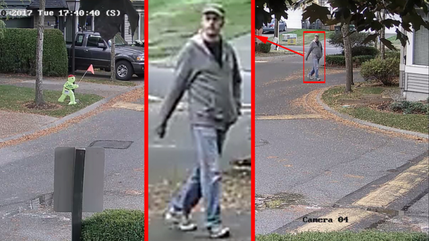 Surrey RCMP release photos of alleged suspect in Clayton assaults