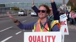 Strikers step up pressure on picket lines