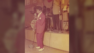 Jackie Shane performs in this undated photo. (Numero Group)