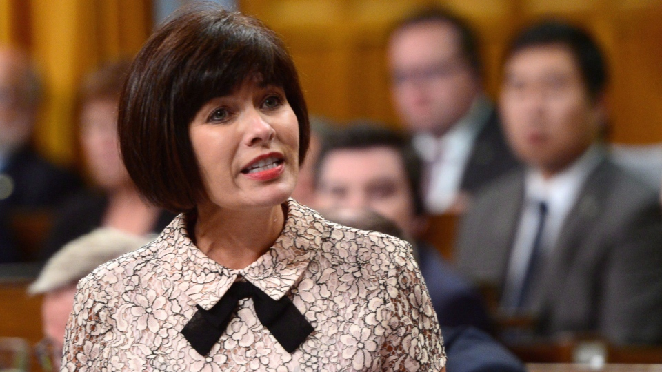Ginette Petitpas Taylor, Minister of Health, stands during Question Period in the House of Commons on Parliament Hill in Ottawa on Thursday, Sept. 21, 2017. (THE CANADIAN PRESS/Sean Kilpatrick)