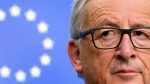 European Commission President Jean-Claude Juncker listens to questions during a media conference at the conclusion of an EU summit in Brussels on Friday, Oct. 20, 2017. (AP Photo/Virginia Mayo)
