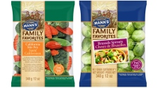 Two recalled Mann's Family Favorites stirfry mixes are shown