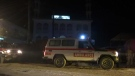 Dozens of people are dead after a suicide bomber targeted a Shiite mosque in a western Kabul neighbourhood during evening prayers, Friday, Oct. 20, 2017.