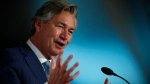 Gary Doer is shown speaking at a Chamber of Commerce luncheon in Winnipeg, Wednesday, November 9, 2016 in this file photo. (THE CANADIAN PRESS / John Woods)