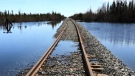 Mark Kohaykewych, president of Polar Industries, says that the company has partnered with the Fox Lake Cree Nation and Churchill-based Remote Area Services to carve out an ice road along the 300 kilometres of wilderness between the end of the working rail line and Churchill. (File image)
