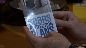 How do get money back on your Sears Protection Plan