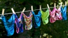 File image of underwear drying on a clothing line. (Chlot's Run/ Flickr)