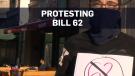Bill 62 protest