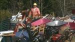 CTV News at 5: One man's trash…