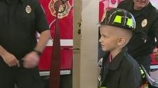 CTV Windsor: Honourary firefighter