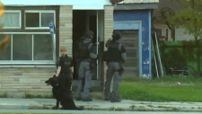 Man barricaded in home prompts standoff