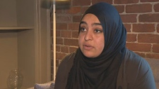 Masuma Khan, a member of the student council executive, is under investigation for an online post that another student alleges discriminated against white people.