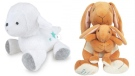 The Carter's Child of Mine Lamb Waggy Musical Toy and Guess How Much I love You Big Nutbrown Hare, Little Nutbrown Hare Waggy Musical Toy are shown in provided images.