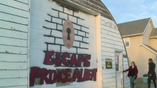 Teen makes escape room in family Quonset
