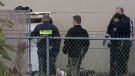Cops investigating after body found in dumpster