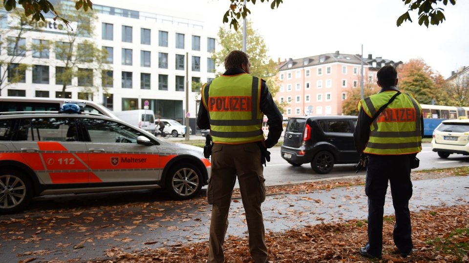 Man with knife attacks 4 people in Munich; arrest made