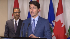 PM Trudeau takes questions in Edmonton