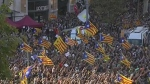 CTV News Channel: Pro-Catalonia independence rally