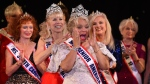 Ms. New Jersey Carolyn Slade Harden is crowned Ms. Senior America during the 38th Annual National Ms. Senior America 2017 Pageant at the Resorts Casino Hotel in Atlantic City, New Jersey October 19, 2017. (Timothy A. Clary/AFP)