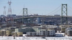 Shannon Park, an abandoned community that housed mainly military families and slated for redevelopment, is seen in Dartmouth, N.S. on Monday, Feb. 15, 2016. A declassified report says Halifax's bid to woo online retail giant Amazon includes offering the company the site of a former military community. (Andrew Vaughan/THE CANADIAN PRESS)