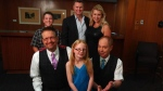 Penn & Teller met with 'London the Magnificent' and her family on October 20 in Calgary (courtesy: Jones family)