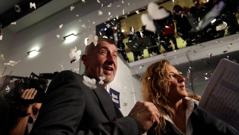 Populist billionaire's party wins big in Czech Republic election