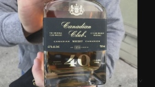 Canadian Club whiskey