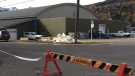 Fernie Memorial Arena is shown in Fernie, B.C. on Wednesday, Oct.18, 2017. Three people who died after a suspected ammonia leak were doing maintenance work on ice-making equipment at an arena in southeastern British Columbia, says the city's mayor. THE CANADIAN PRESS/Lauren Krugel
