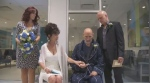 Gerard Champagne and Michelle Cormier tied the knot at the MUHC.