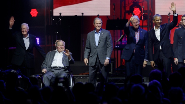 5 Living Ex Presidents Attend Texas Hurricane Relief Concert
