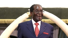 epa06280227 (FILE) - Zimbabwean President Robert Mugabe giving his traditional annual State of The Nation Address to members of parliament in Harare, Zimbabwe, 06 December 2016 Zimbabwean President Robert Mugabe has been made a 'goodwill ambassador' by the World Health Organisation (WHO). Tedros Ghebreyesus, WHO's director-general, announcing the appointment in Uruguay, told a conference on non-communicable diseases that President Mugabe had agreed to be a 'goodwill ambassador' on the issue. EPA/AARON UFUMELI / POOL