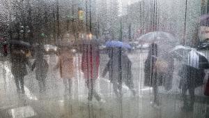 Vancouver rain