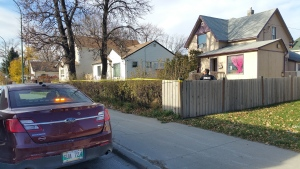 Police said they were called to the scene on Nairn Avenue around 1:20 p.m. Sunday regarding a serious assault.